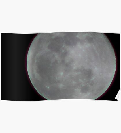 Moon Rise 002 Poster