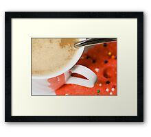 Coffee & Cookies Framed Print