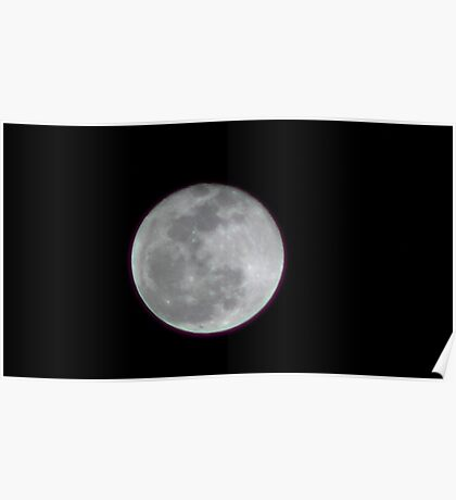 Moon Rise 003 Poster