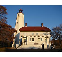 Sandy Hook Light House Photographic Print