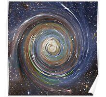 Spiral Sky Poster
