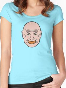 John Locke - Orange In Mouth - Lost Women's Fitted Scoop T-Shirt