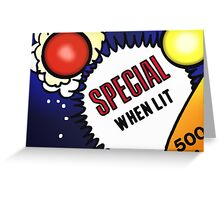 Special When Lit Greeting Card