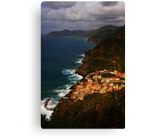 Colors of Cinque Canvas Print
