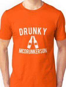 Drunky McDrunkerson St. Patrick's Unisex T-Shirt