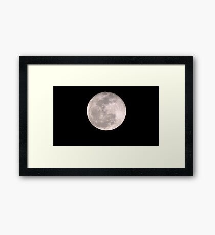 Moon Rise 007 Framed Print