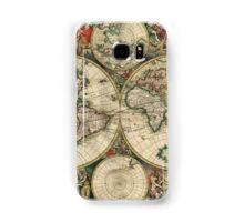Old World Map Samsung Galaxy Case/Skin