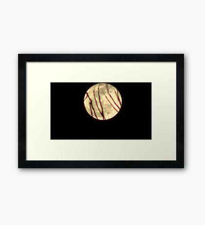 Moon Rise 008 Framed Print