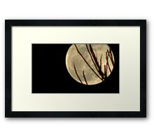 Moon Rise 009 Framed Print