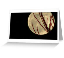 Moon Rise 009 Greeting Card