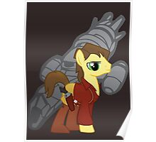 Malcolm Reinholds - Pony Poster