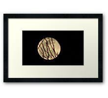 Moon Rise 010 Framed Print