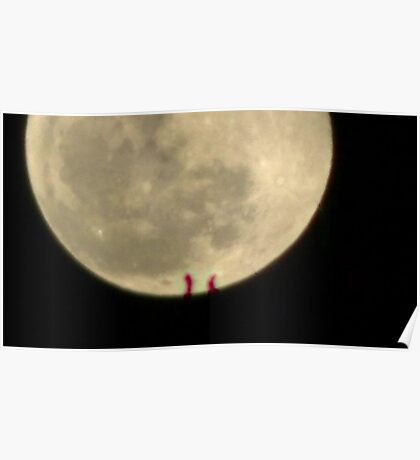Moon Rise 012 Poster