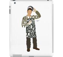Dexter Typography Design iPad Case/Skin