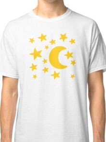 Moon stars sky Classic T-Shirt