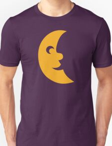 Cute moon face Unisex T-Shirt