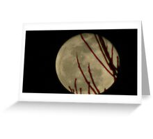Moon Rise 016 Greeting Card