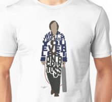 Anton Chigurh in No Country For Old Men Typography Design Unisex T-Shirt