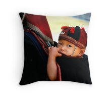By Back Throw Pillow