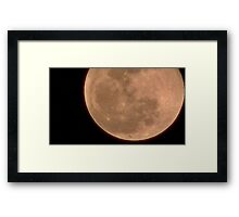 Moon Rise 017 Framed Print
