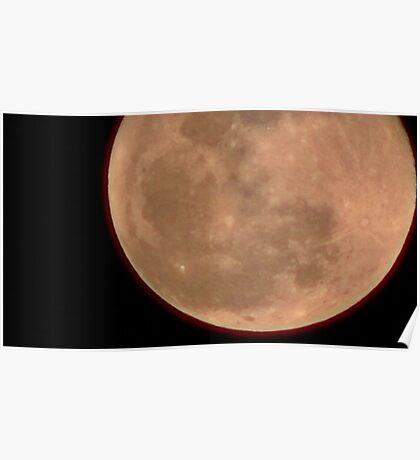 Moon Rise 017 Poster