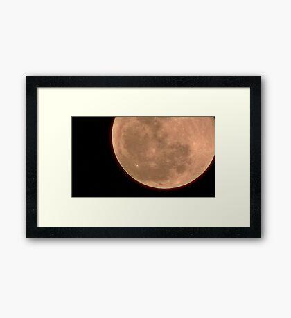 Moon Rise 019 Framed Print