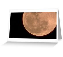 Moon Rise 019 Greeting Card