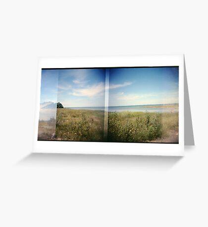 Northern Ontario landscape holgarama Greeting Card
