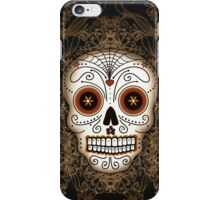 Vintage Sugar Skull iPhone Case/Skin