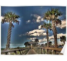 Lets go to the beach, Englewood FL Poster