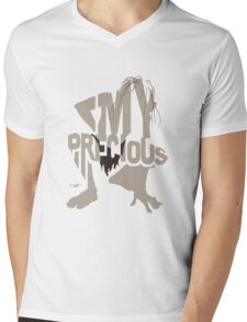 Gollum of Lord of the Ring Mens V-Neck T-Shirt