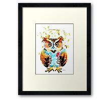 The most beautiful Owl Framed Print
