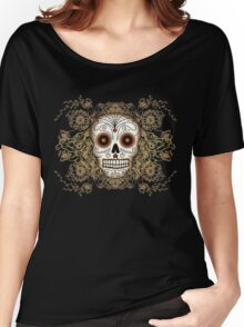 Vintage Sugar Skull Women's Relaxed Fit T-Shirt