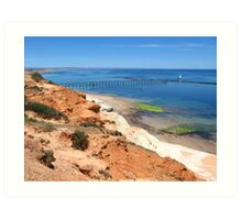Port Noarlunga Jetty Art Print