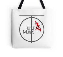 Just Music - Ripple Effect Style Tote Bag