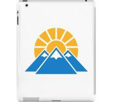 Mountains sun iPad Case/Skin