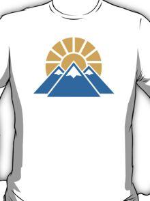 Mountains sun T-Shirt