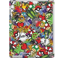 Video Game Mash-Up iPad Case/Skin