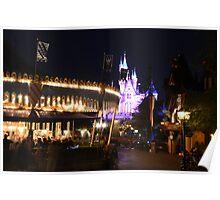 Fantasy land Disneyland Poster