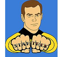 Star Trek Fist Tattoos Photographic Print