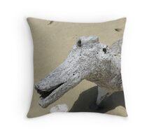 Old Sea Dog Throw Pillow