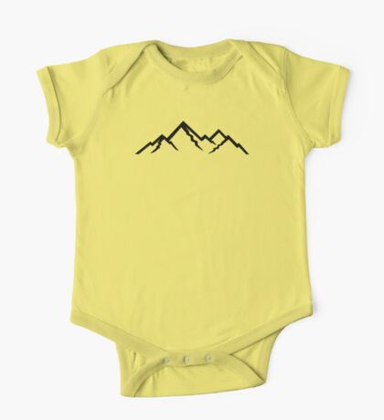 Mountains One Piece - Short Sleeve