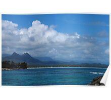 Hawaii--eastern beach Poster