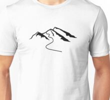 Mountains snow Unisex T-Shirt