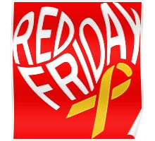 Red Friday Poster