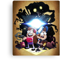 Gravity Falls - Season 2 Canvas Print