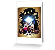 Gravity Falls - Season 2 Greeting Card