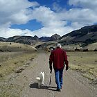 Hiking With Man's Best Friend by AspenWillow