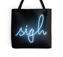 neon sigh Tote Bag