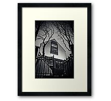 The Rooms Framed Print